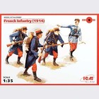 Icm . ICM 1/35 FRENCH INFANTRY 1914