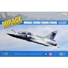 Kinetics . KIN 1/48 Dassault Mirage 2000B/N/D