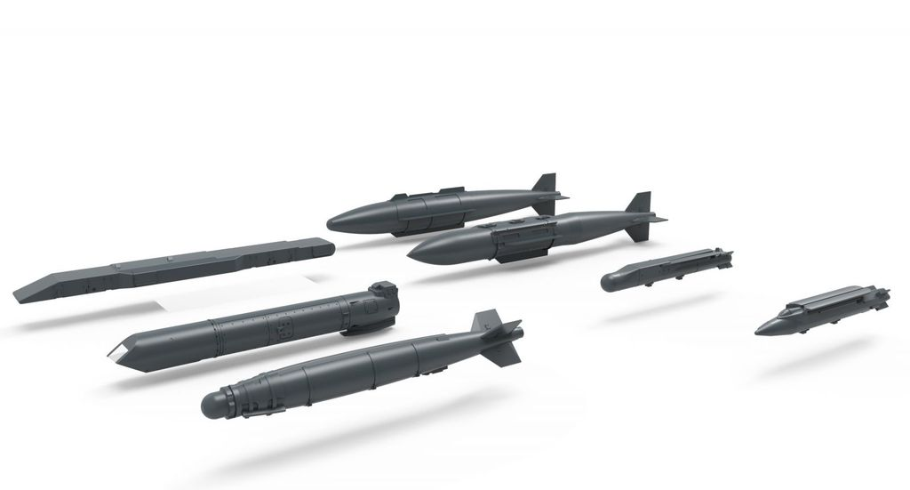 Meng   MEG 1/48 US Satellite Guided Bombs