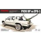 Meng . MEG 1/35 Pick-Up W/ZPU-1