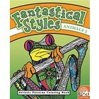 MindWare . MIW Fantastical Styles Coloring Book - Animals 2