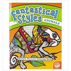 MindWare . MIW Fantastical Styles Coloring Book - Animals