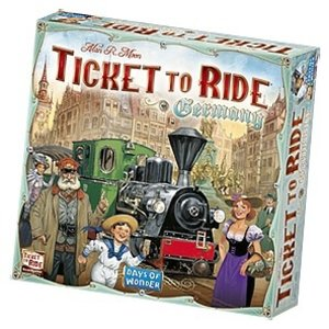 Days of Wonder . DOW Ticket to Ride Germany