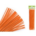 MultiCraft . MCI Chenille Stems - Orange