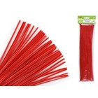 MultiCraft . MCI Chenille Stems - Red