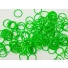 Pepperell . PEP SILICONE LOOPS NEON GREEN