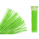 MultiCraft . MCI Chenille Stems - Lime Green