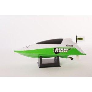 Rage RC . RGR Aqua Dart RTR Boat-White/Green