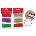 MultiCraft . MCI (DISC) Stretch Cord - Holiday Asst