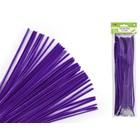 MultiCraft . MCI Chenille Stems - Purple