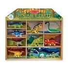 Melissa & Doug . M&D Dinosaur Party Play Set