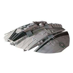 Moebius Models . MOE Battlestar Galactica Original Cylon Raider Prefinished