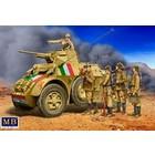 Masterbox Models . MTB 1/35 WWII Italian Military Crew (5)