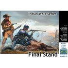 Masterbox Models . MTB 1/35 Final Stand US Cavalry Soldier, Frontiersman & Down Horse