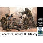 Masterbox Models . MTB 1/35 Under Fire Modern US Infantry (4)