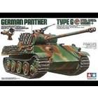 Tamiya America Inc. . TAM 1/35 Panther Type G Steel Wheel Tank