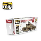 Ammo of MIG . MGA Sherman Tanks Vol. 1 (WWII Commonwealth) Set