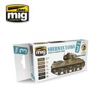 Ammo of MIG . MGA Sherman Tanks Vol. 3 (WWII US Marine Corps) Set
