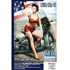 Masterbox Models . MTB 1/24 Marylin Pin Up