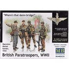 Masterbox Models . MTB 1/35 WWII BRITISH PARATROOPERS