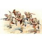 Masterbox Models . MTB 1/35 WWII British Infantry N.Africa