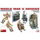 Miniart . MNA 1/35 WWII DRIVERS (6)
