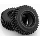 RC 4WD . RC4 MUD THRASHERS 1.9 SCALE TIRES