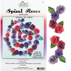 Quilled Creations . QUI (DISC) - Spiral Roses (Burg/Red/Purples) Quilling Kit