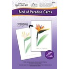 Quilled Creations . QUI Bird of Paradise - Quilling Card Kit