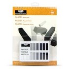 Royal (art supplies) . ROY 18 BLK & WHT SOFT PASTEL PAD