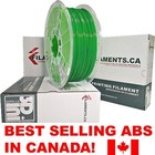 Filaments ca . FIL Dark Green 1.75 mm ABS Filament 1 Kg