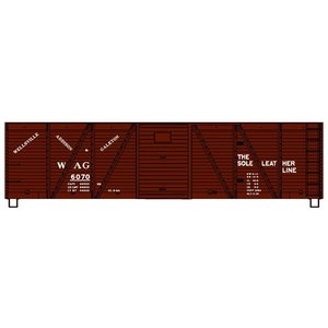 Accurail . ACU HO KIT 40' Wood Box, WAG