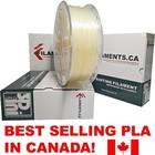 Filaments ca . FIL Natural 1.75 mm PLA Filament 1 Kg