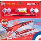 Airfix . ARX 1/72 Red Arrow Gnat Starter Set