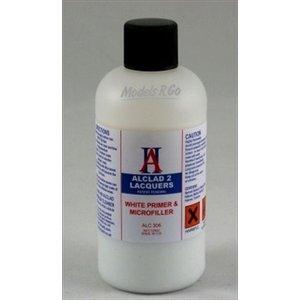 Alclad Paint . ALD WHITE PRIMER & MICROFILLER 4OZ