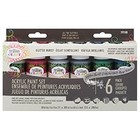 Testors Corp. . TES (DISC)-CRAFT PAINT 6PK GLITTER