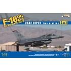 Kinetics . KIN 1/48 F-16D USAF Viper