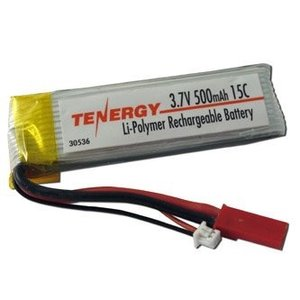 Tenergy Corp . TGY LIPO 3.7V 500MAH 15C W/JST CON