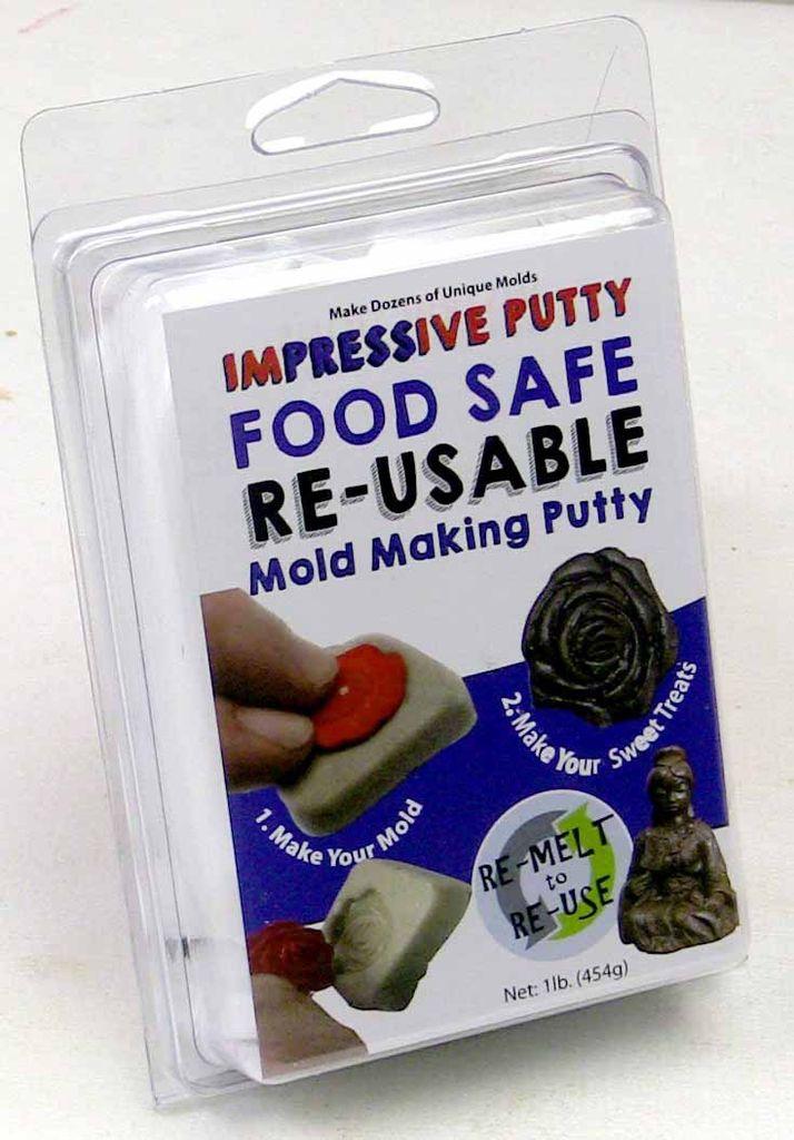 Composimold   CPO Food Safe ImPRESSive Reusable Molding Putty 16oz