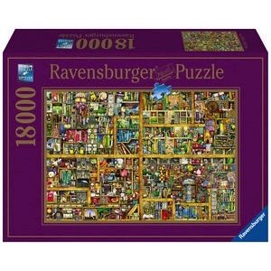 Ravensburger (fx shmidt) . RVB Magical Bookcase 18,000 pc Puzzle