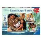 Ravensburger (fx shmidt) . RVB Moana - Born To Voyage Puzzles