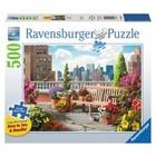Ravensburger (fx shmidt) . RVB Rooftop Garden 500Pc Puzzle