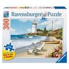 Ravensburger (fx shmidt) . RVB Sunlit Shores 300 Lrg Piece Puzzle