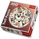 Trefl (puzzles) . TRF Kittens 300Pc Round Puzzle