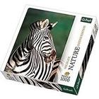 Trefl (puzzles) . TRF Nature Zebra 1000Pc Puzzle