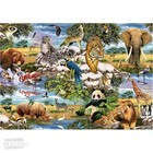 Trefl (puzzles) . TRF World Animals Puzzle 1000Pc