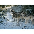 Cobble Hill . CBH Wolf Train 1000Pc Puzzle