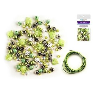 MultiCraft . MCI Acrylic Bead Kit Green
