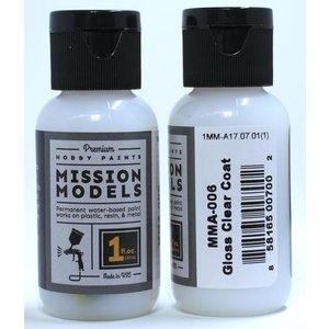 Mission Models . MIO Gloss Clear Coat 1oz