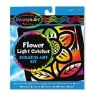 Melissa & Doug . M&D Flower LIght Catcher - Scratch Art
